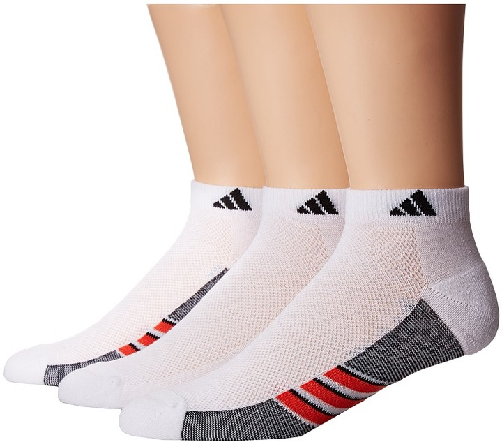 adidas - Climacool Superlite 3-Pack Low Cut Socks Men's Low Cut Socks Shoes