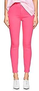 Current/Elliott Women's The Ultra High Waist Skinny Jeans - Pink