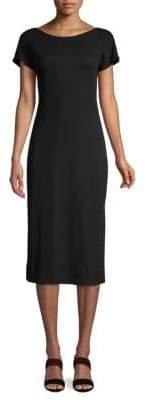 Theory Andrizza Short-Sleeve Cotton Dress