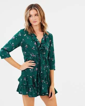 Desert Dandelion Grace Mini Dress