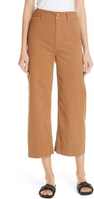 Apiece Apart Merida High Waist Crop Pants