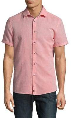 Strellson Caspar Short-Sleeve Button-Down Shirt