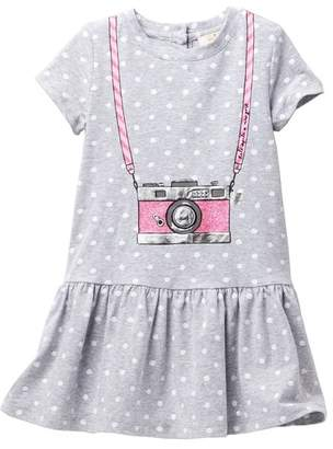 Kate Spade camera polka dot dress (Toddler & Little Girls)