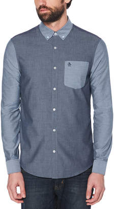 Original Penguin COLOR BLOCK SHIRT
