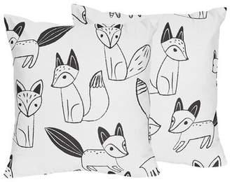 JoJo Designs Sweet Fox Throw Pillow Sweet
