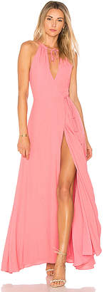 Privacy Please Cambio Maxi Dress in Pink $228 thestylecure.com