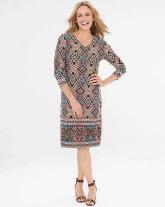 Chico's Chicos Kaleidoscope-Print Dress