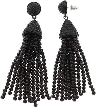 Vera Wang Simply Vera Beaded Tassel Earrings