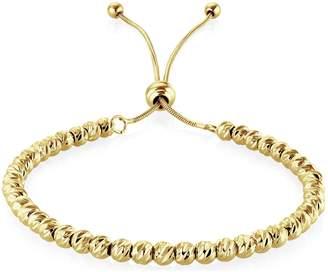 Buckley London Buckley Gold Colour Soho Diamond Cut Bracelet