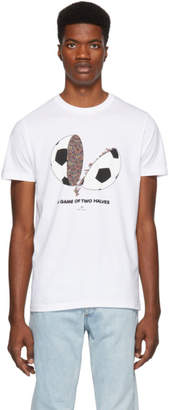 Paul Smith White A Game Of Two Halves T-Shirt