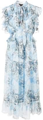 Robert Rodriguez floral print dress