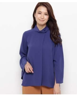 smartpink (スマートピンク) - スマートピンク [洗える]スポンジージョーゼット ケープシャツ