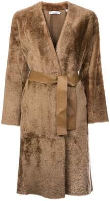 Vince long sleeved trench coat