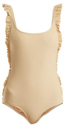 Made By Dawn - Petal Swimsuit - Womens - Cream