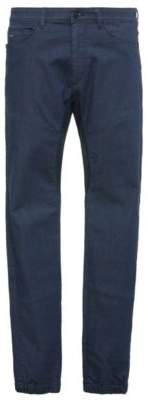 BOSS Hugo Cotton Jean, Tapered Fit Danyel 36/32 Turquoise