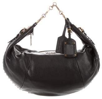 Prada Cervo Tamponato Shoulder Bag