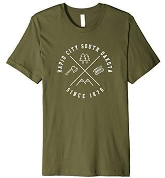 Dakota Rapid City South T Shirt SD Emblem Cool