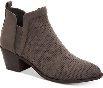 Style&Co. Style & Co Women Myrrah Perforated Ankle Booties, Women Shoes