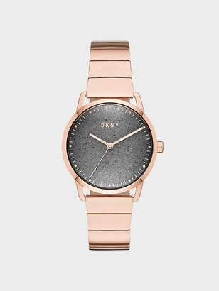 DKNY Greenpoint 36mm Rose Gold-Link Stainless-Steel Watch