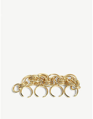 Chloé Reese gold-toned knuckle ring
