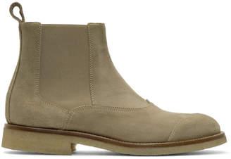 Belstaff Tan Suede Ladbroke Boots