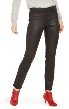 Hue Textured Microsuede Leggings