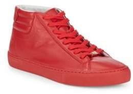 True Religion Leather Hi-Top Sneakers