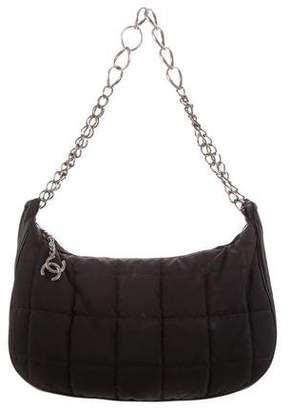 Chanel Nylon CC Ring Hobo