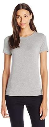 Lark & Ro Women's Super Soft Short Sleeve Crewneck T-Shirt