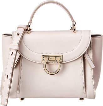 9e6aa2635f Salvatore Ferragamo Mini Vara Leather Shoulder Bag