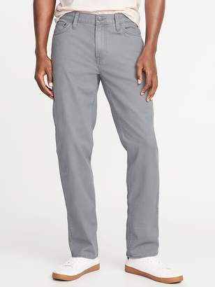 Old Navy Straight Five-Pocket Twill Pants for Men