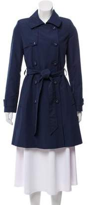 Helene Berman Double-Breasted Trench Coat