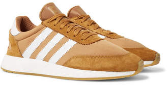 adidas I-5923 Suede-Trimmed Neoprene Sneakers
