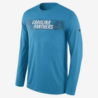 Nike Dri-FIT Legend Seismic (NFL Panthers) Men's Long Sleeve T-Shirt