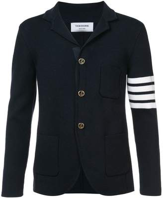 Thom Browne ribbed-knit blazer