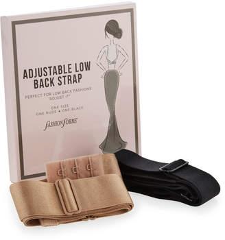 Fashion Forms Adjustable Low-Back Bra Strap