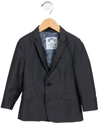 Appaman Fine Tailoring Boys' Plaid Notch-Lapel Blazer