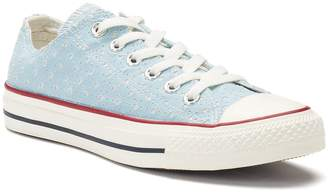 Converse Women's Chuck Taylor All Star Perforated Star Ox Sneakers