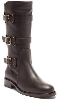 Aquatalia Brennen Leather To-The-Knee Boot