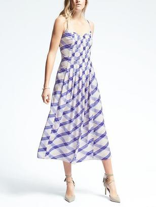Plaid A-line Slip Dress $148 thestylecure.com