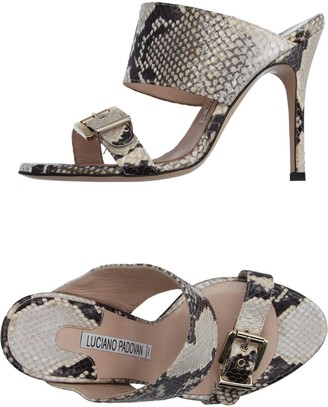 LUCIANO PADOVAN Sandals $302 thestylecure.com