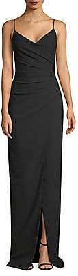 Black Halo Women's Bowery V-Neck Gown
