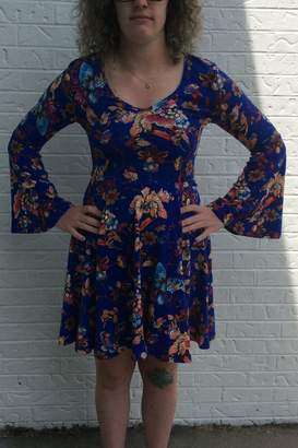 Aryeh Blue Butterfly Dress