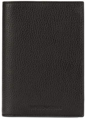 Emporio Armani classic document holder