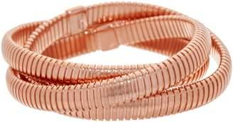 Bronzo Italia Multi Layer Tubogas Bronze Bracelet