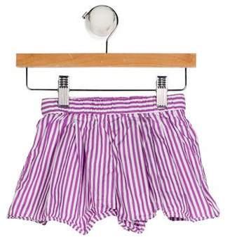 Ralph Lauren Girls' Stripe Shorts