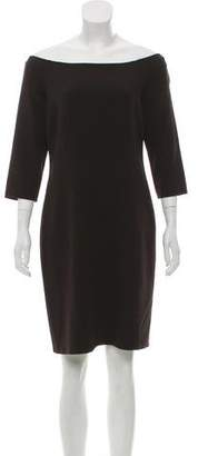 Michael Kors Off-The-Shoulder Mini Dress