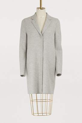 Harris Wharf London Wool Cocoon coat