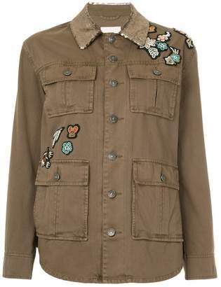 Cinq à Sept embellished button-up jacket