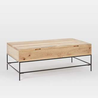 west elm Industrial Storage Pop-Up Coffee Table - Large